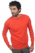 Cashmere men round necks keaton coral xl