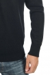 Cashmere men v necks hippolyte 4f premium black m