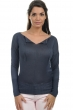 cashmere  silk ladies round necks nimah ink xl