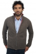 cashmere  yak men waistcoat  sleeveless sweaters vincent natural dove coral m