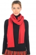 cashmere accessories scarves  mufflers prunelle blood red 240 x 30 cm
