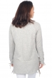 cashmere ladies cardigans heidie flanelle chine natural brown strings xs