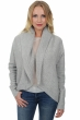 cashmere ladies cardigans junie azur blue chine s1