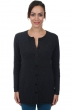 cashmere ladies cardigans michka charcoal marl m