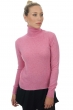 cashmere ladies polo necks lili bubble gum s