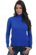 cashmere ladies polo necks lili lapis blue s