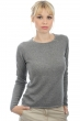 cashmere ladies round necks line dove chine s
