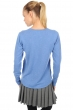 cashmere ladies v necks alwena blue chine s