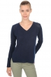 cashmere ladies v necks jackeline dress blue s