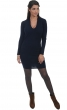 cashmere ladies v necks rosalia dress blue m