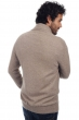 cashmere men chunky sweater maxwell natural brown xl