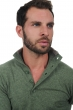 cashmere men polo style sweaters hani olive chine m