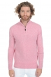 cashmere men polo style sweaters sandor love pink m