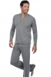 cashmere men pyjamas adam grey marl s
