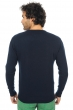 cashmere men round necks santa cruz dress blue m