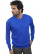 cashmere men v necks maddox lapis blue m