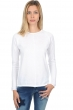cotton giza 45 ladies round necks ireland white l