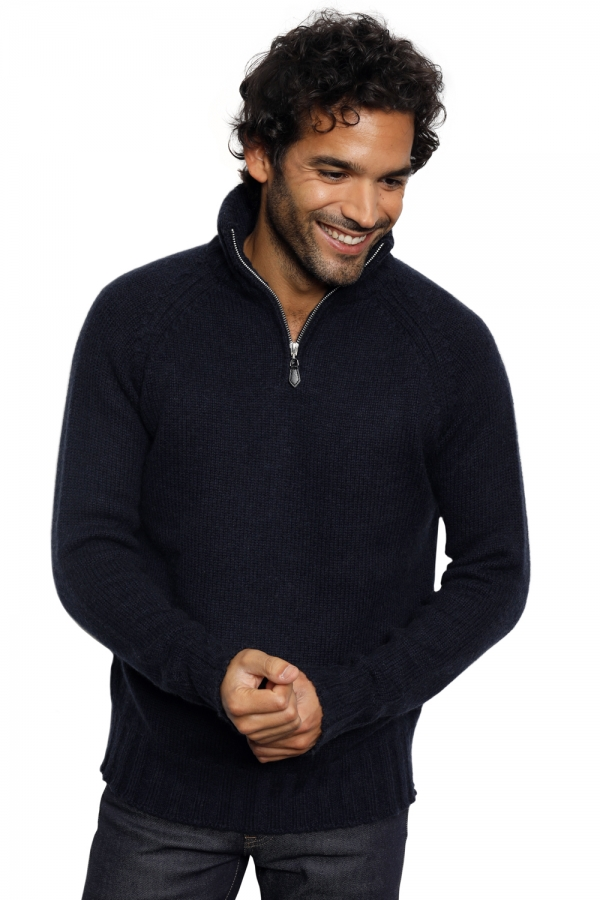 Camel men polo style sweaters craig navy l