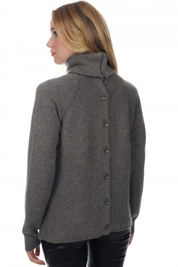 cashmere ladies cardigans ruth dove chine xs