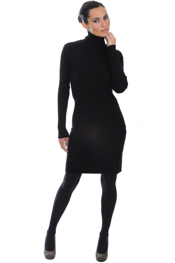 cashmere ladies dresses  coats myrtille black m