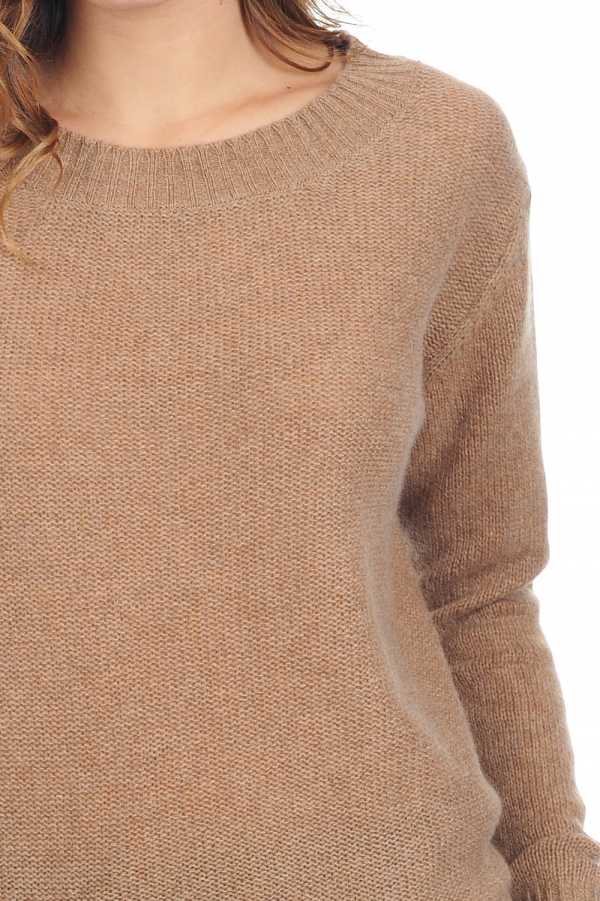 cashmere ladies exclusive laurenlee camel chine s1