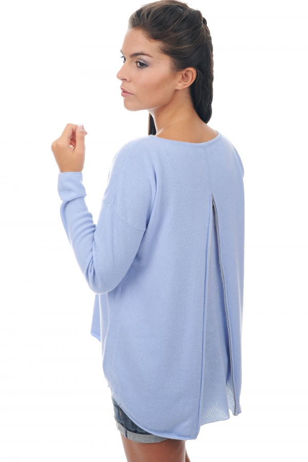 cashmere ladies round necks evangeline kentucky blue s1