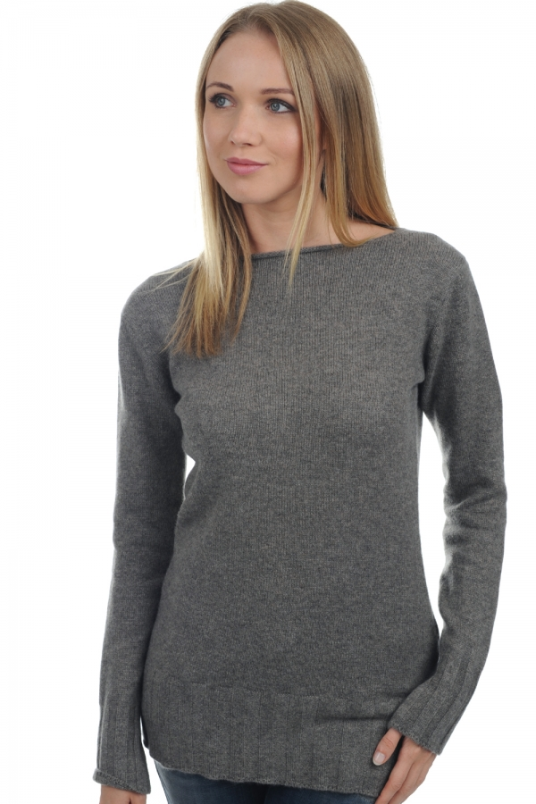 cashmere ladies round necks july dove chine s
