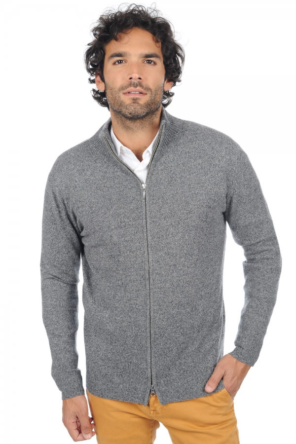 cashmere men basic sweaters at low prices thobias silver grey m