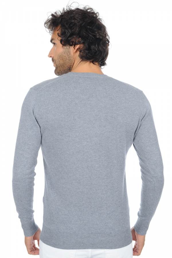cashmere men basic sweaters at low prices tor bluish grey m