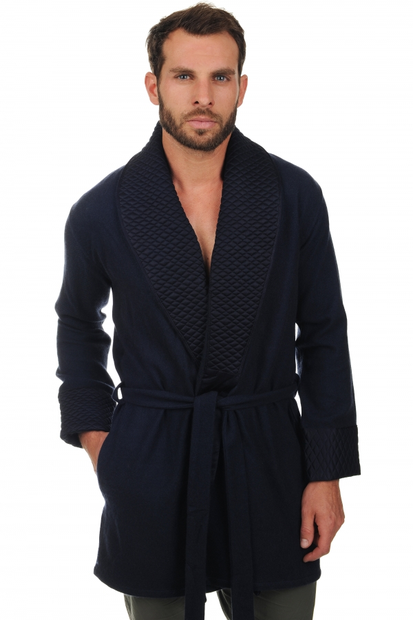 cashmere men dressing gown vatali dress blue s1