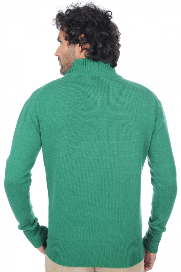 cashmere men polo style sweaters donovan evergreen xl