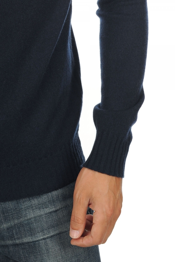 cashmere men round necks nils dress blue canard blue m