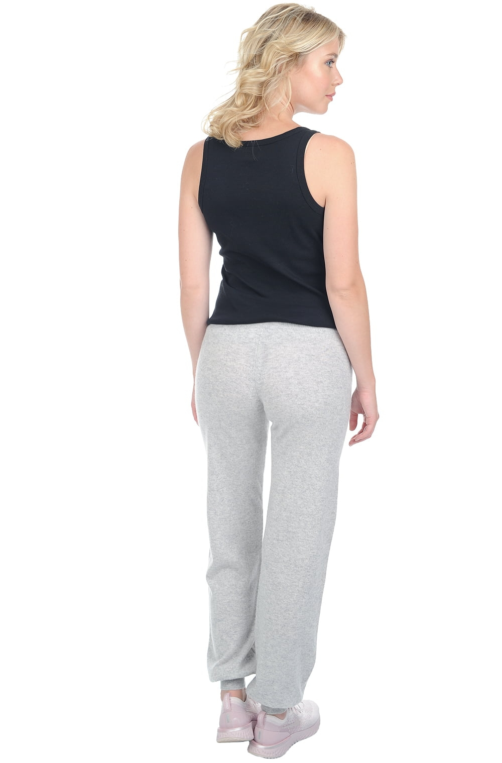 Cashmere ladies trousers leggings olly flanelle chine m