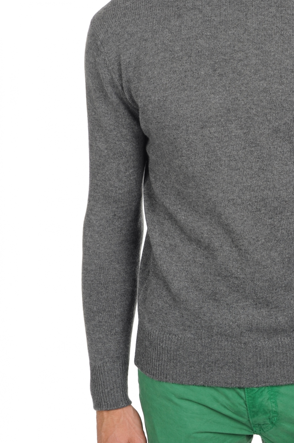 Cashmere men roll neck edgar 4f premium premium graphite m