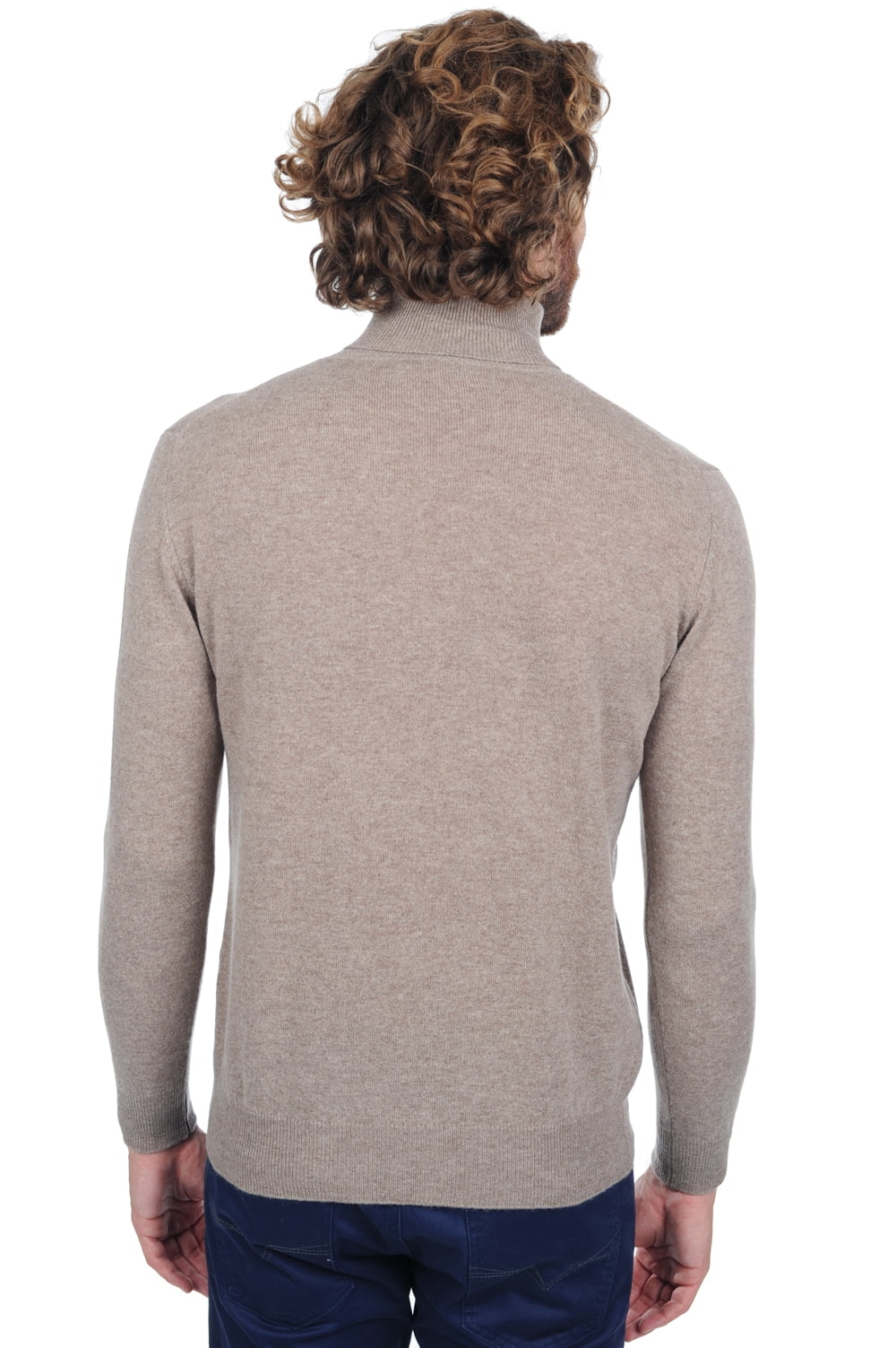 Cashmere men roll neck tarry pollux s