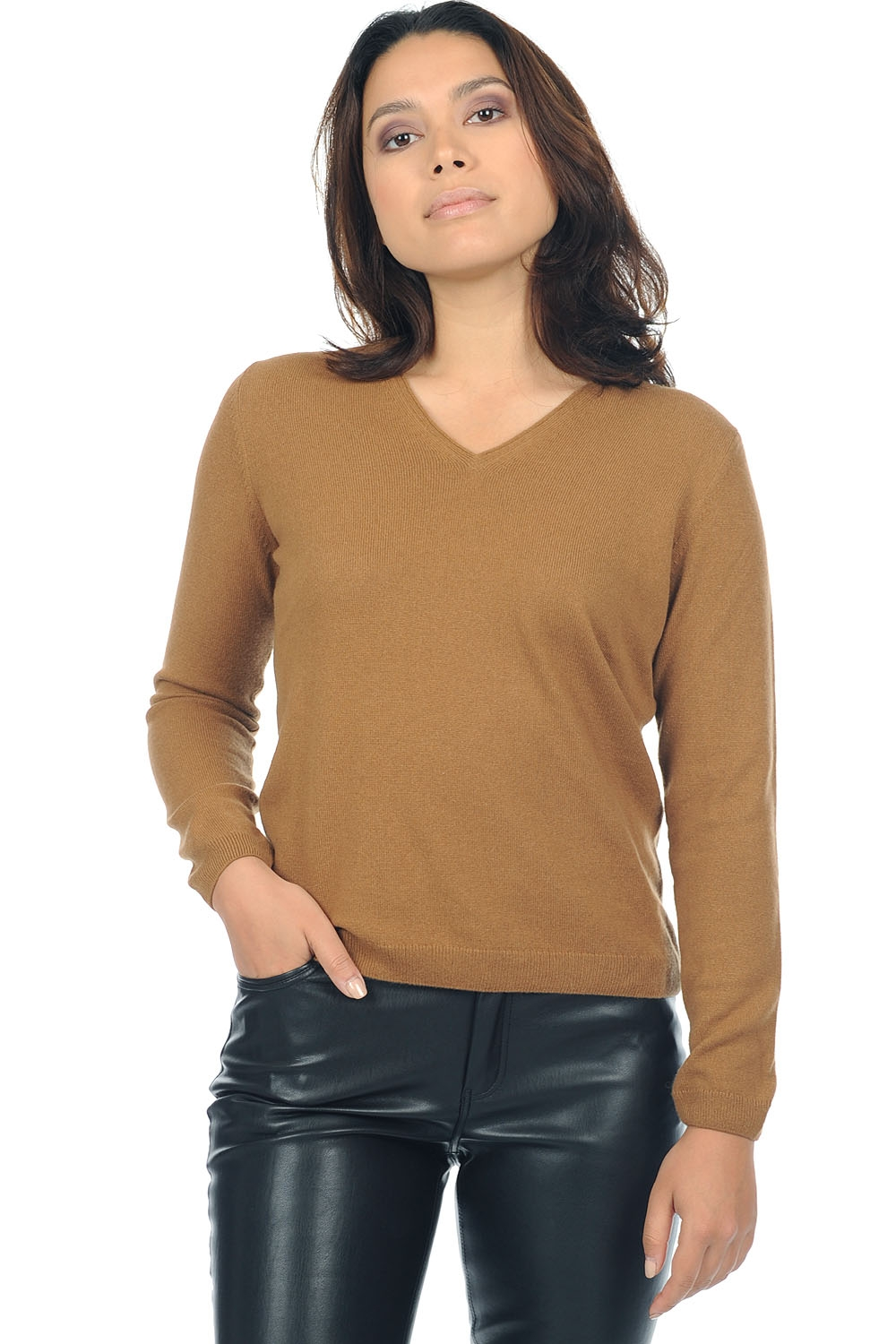 Vicuna ladies v necks vicunashe natural vicuna s