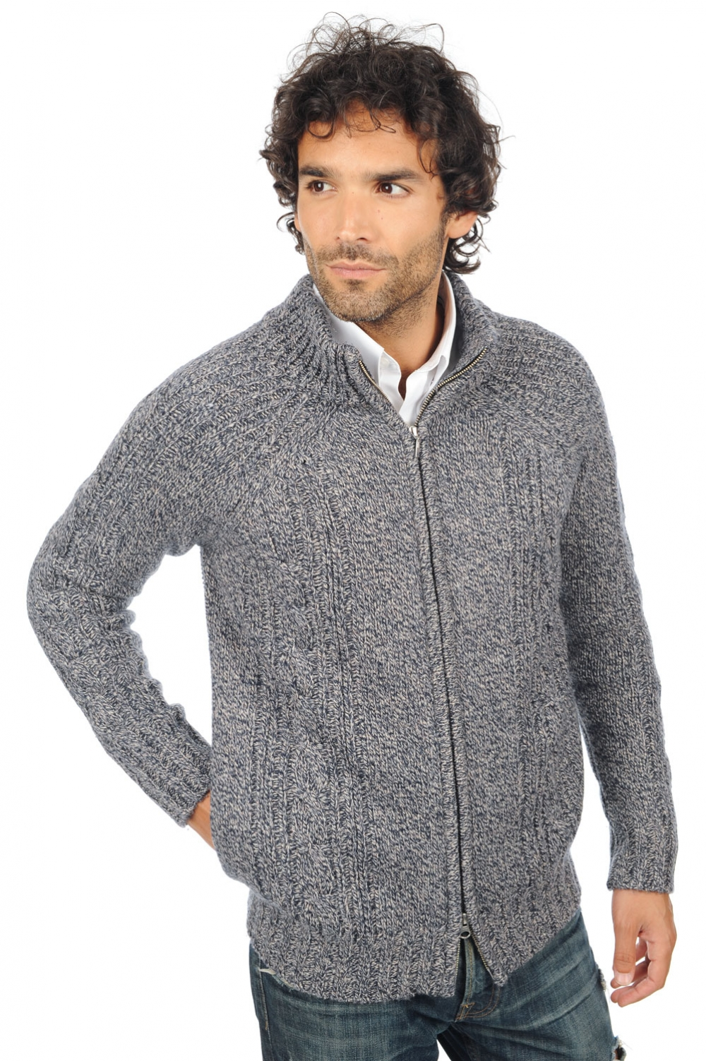 camel men chunky sweater thais journey m