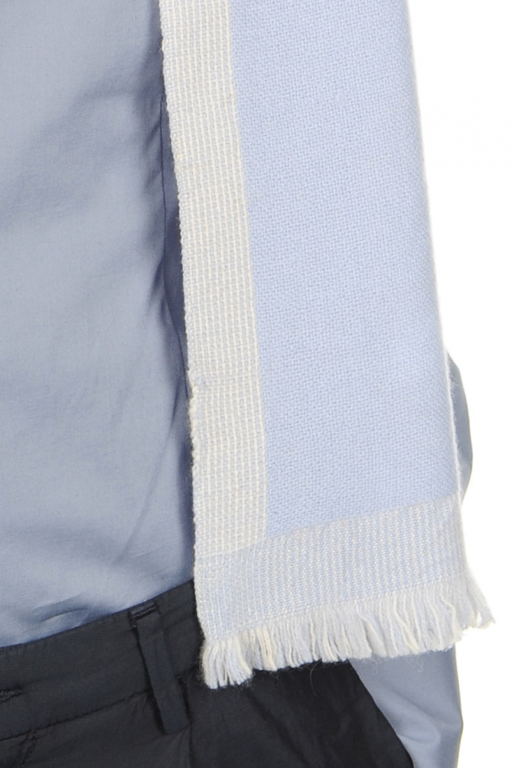 cashmere accessories scarves  mufflers tonnerre kentucky blue pristine 180 x 24 cm