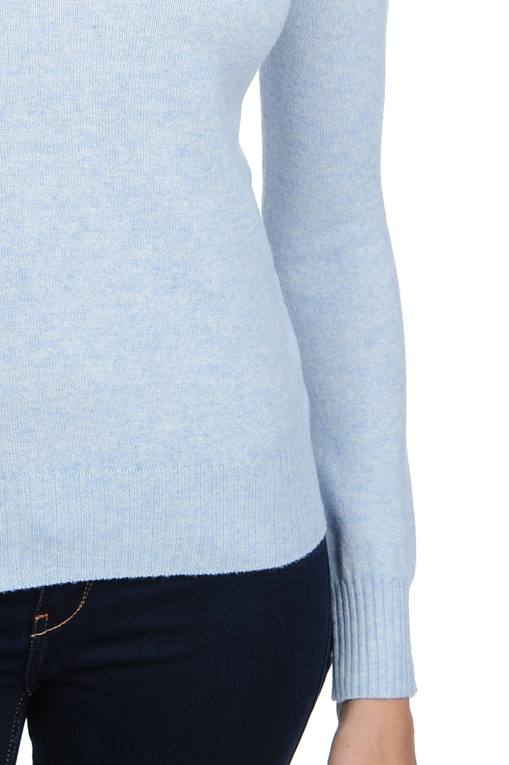 cashmere ladies polo necks lili arctic s
