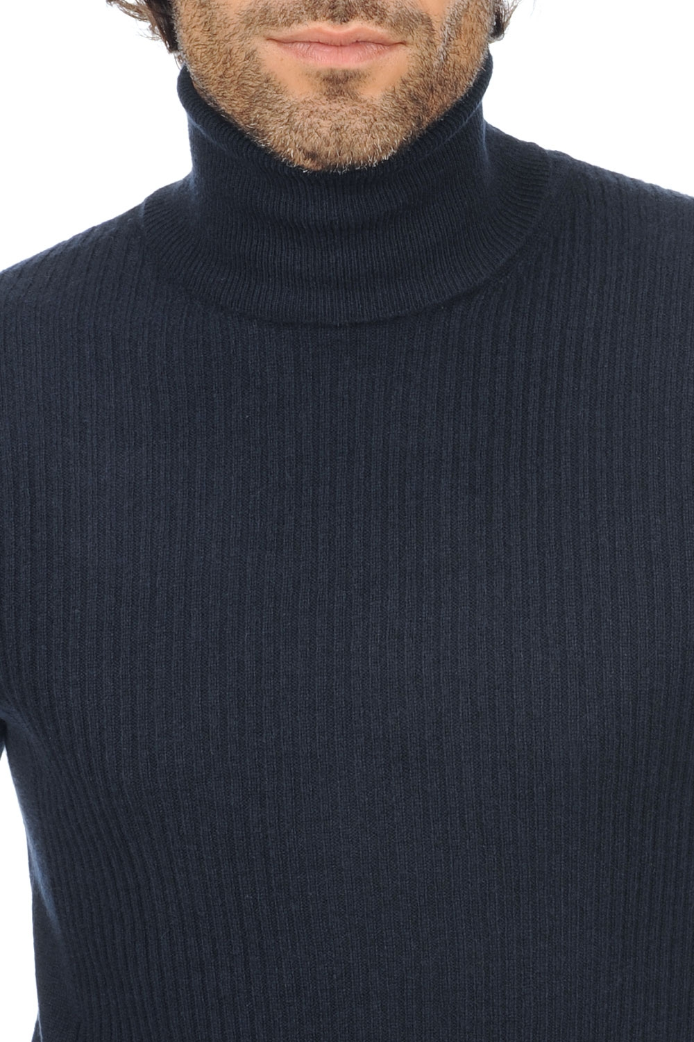 cashmere men polo necks zinedine dress blue s