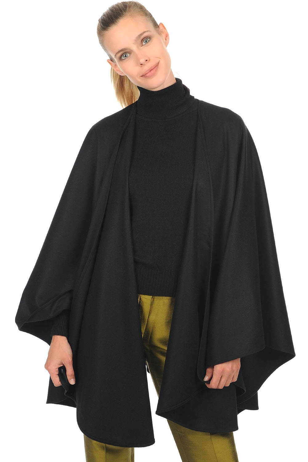 vicuna accessories shawls vicunacape black one size