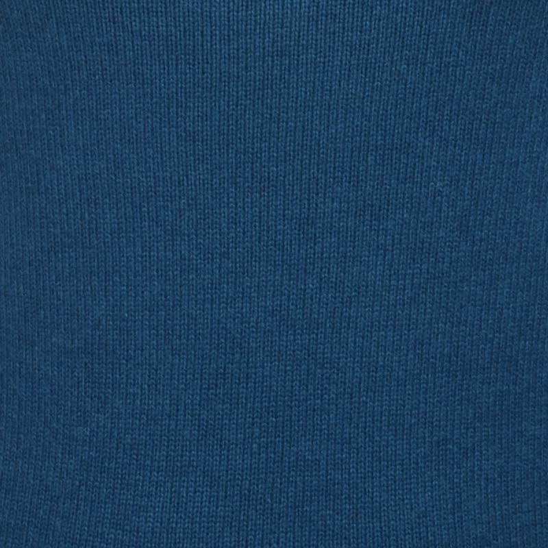 cashmere men polo necks lucas canard blue m